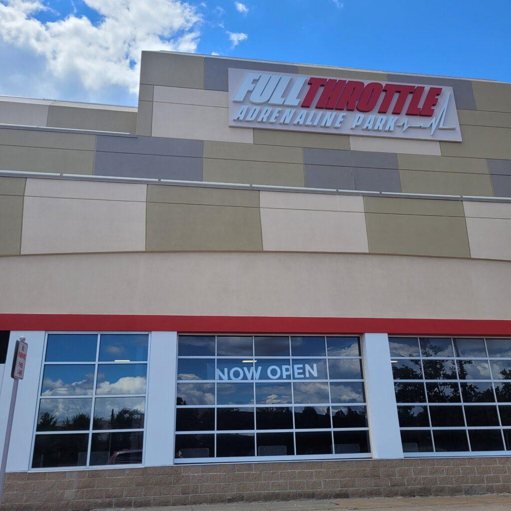 Full Throttle Adrenaline Park is Now Open!