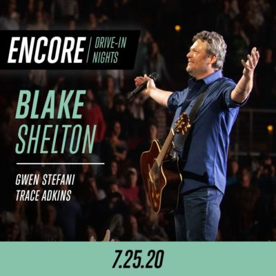 Emagine Entertainment presents Blake Shelton on the big screen, July 25th.