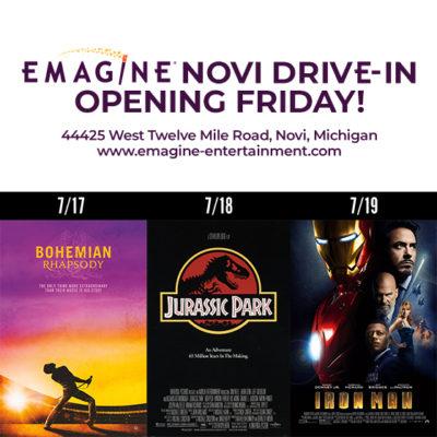 Emagine Theatre Drive In!