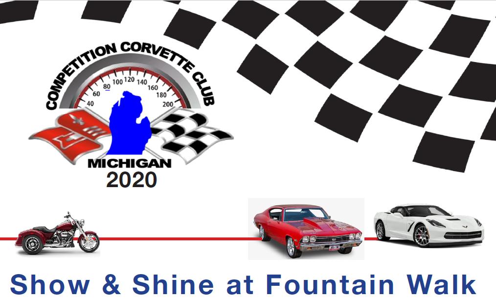 Corvette Club Car Show – Saturday, September 19th, 9AM to 1PM