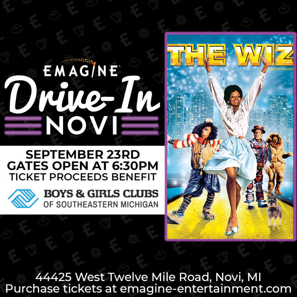 Special showing of The Wiz – 9-23
