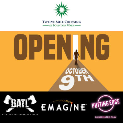 Emagine, BATL and Putting Edge are re-opening Oct 9th!!!
